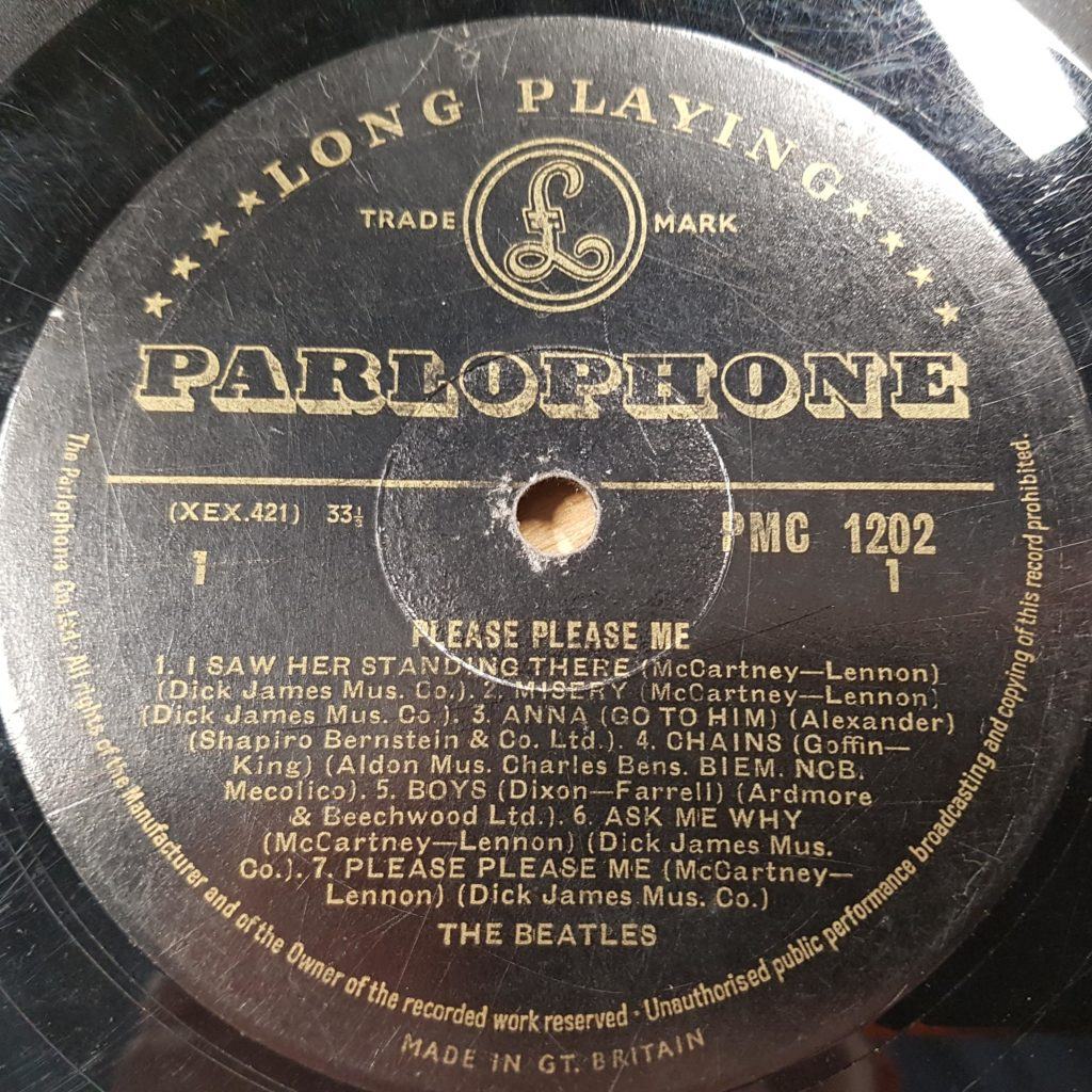 vinyl record auction