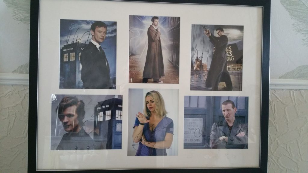 Dr Who Signed Photos: Autograph and Memorabilia Collection