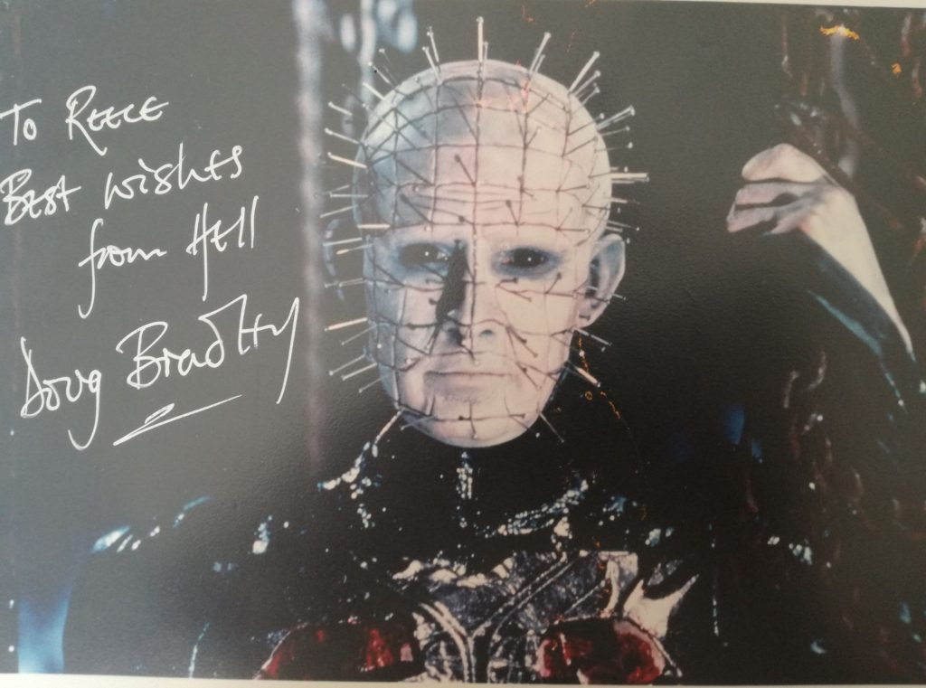 Hellraiser signed photo: Autograph and Memorabilia Collection