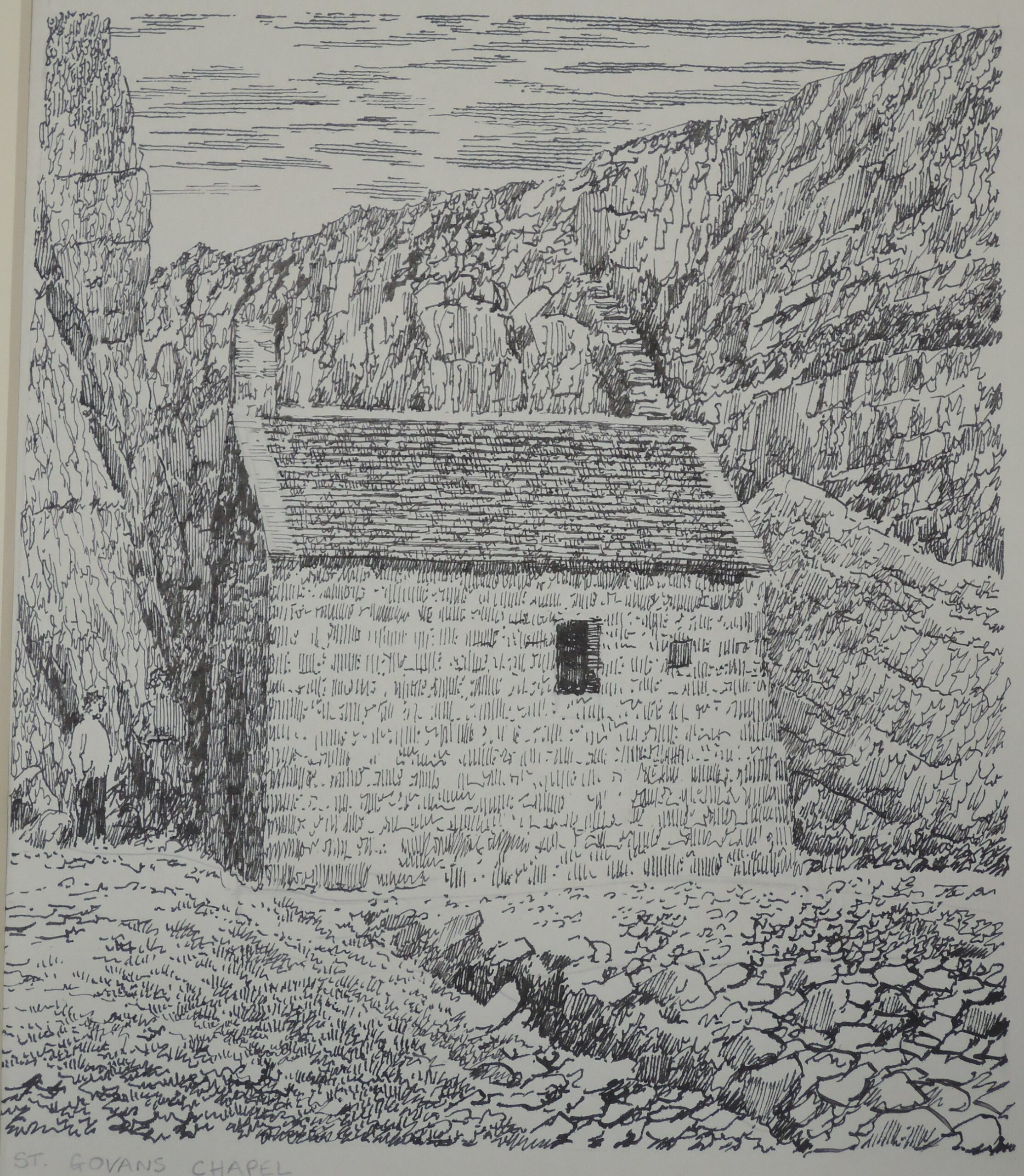 Sketches by Alfred Wainwright are up for auction