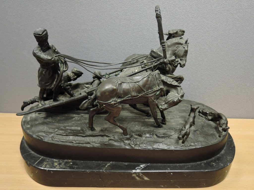 Russian bronze at auction