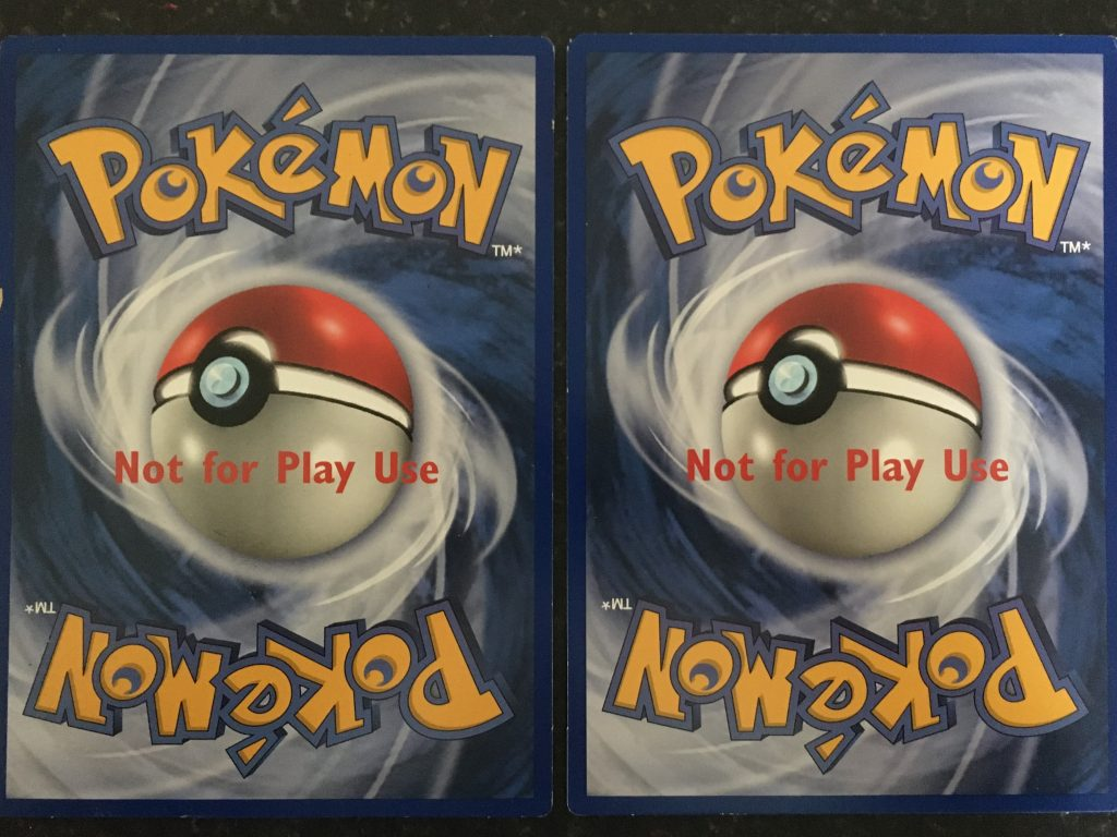 pokemon collection at auction A5 cards