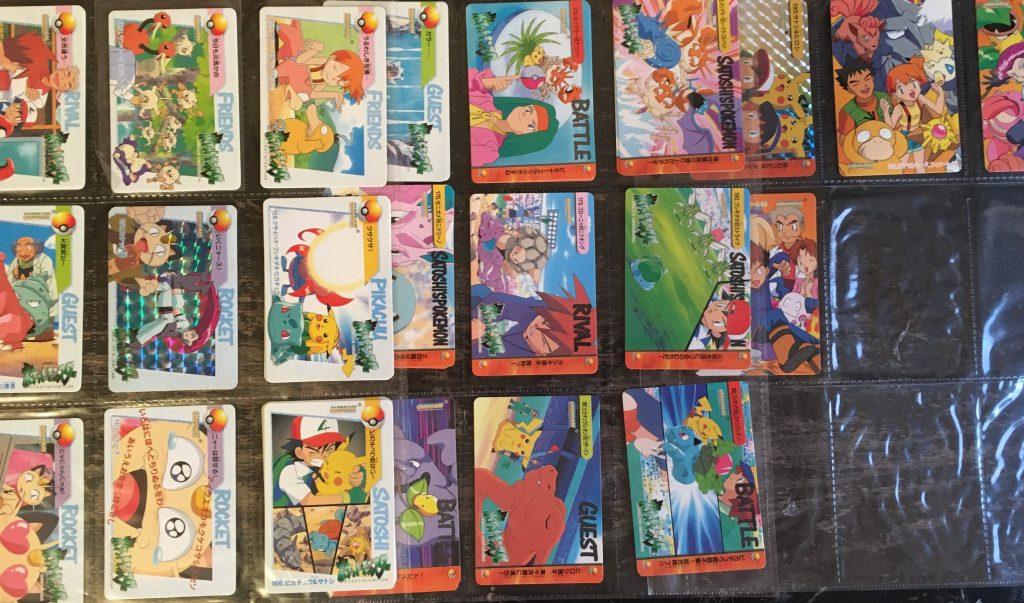 pokemon collection at auction pocket monsters cards