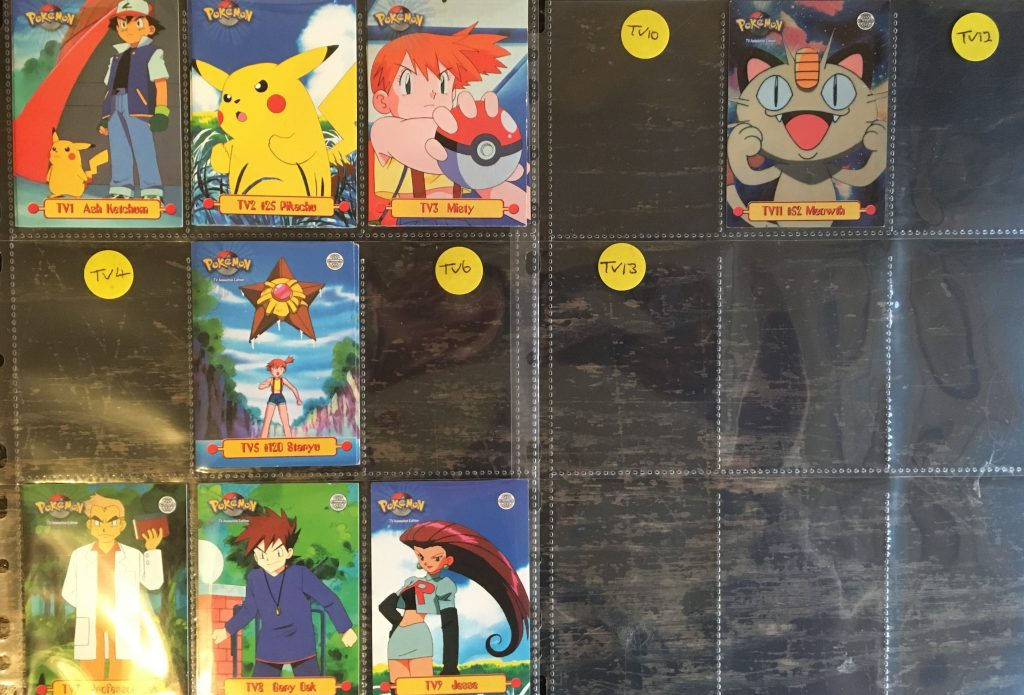 pokemon collection at auction