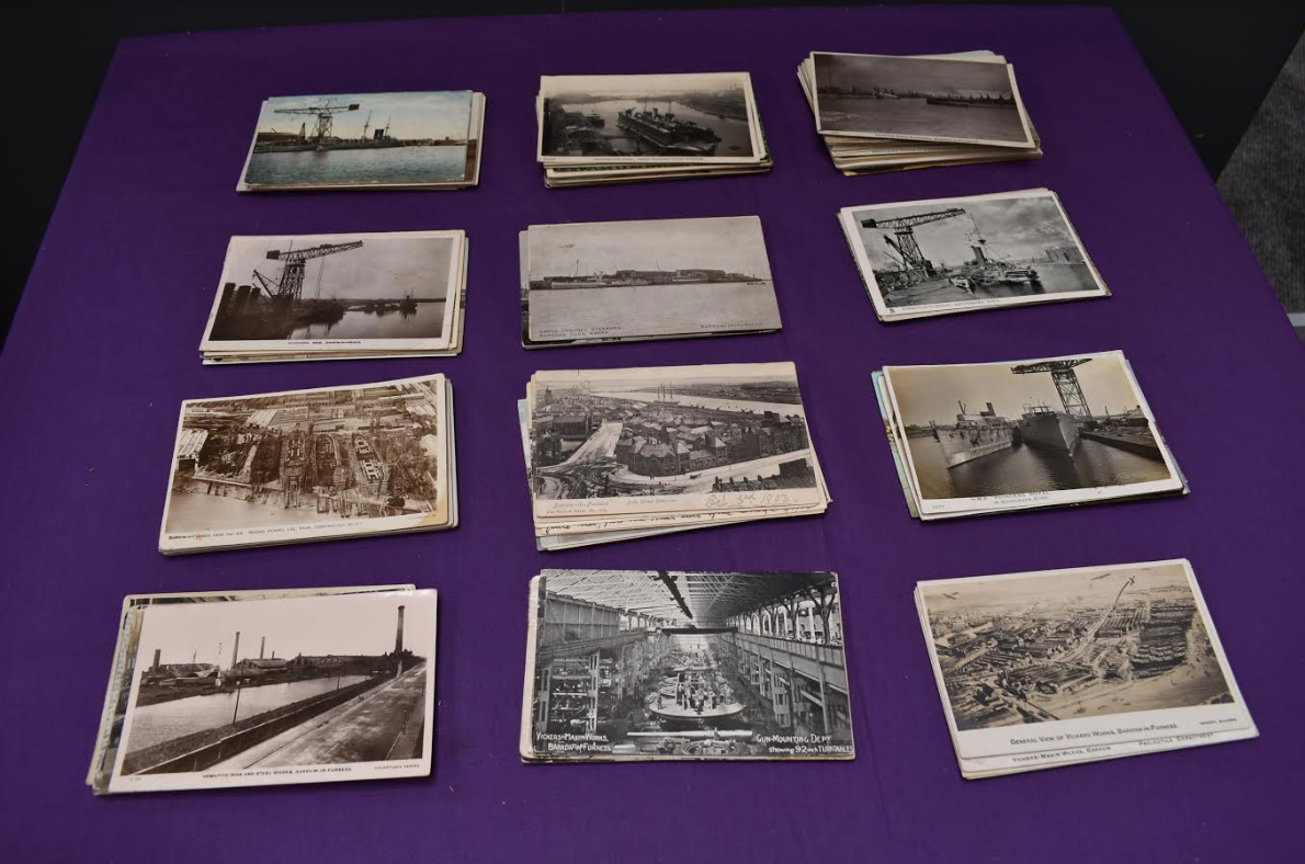 vintage photo postcards
