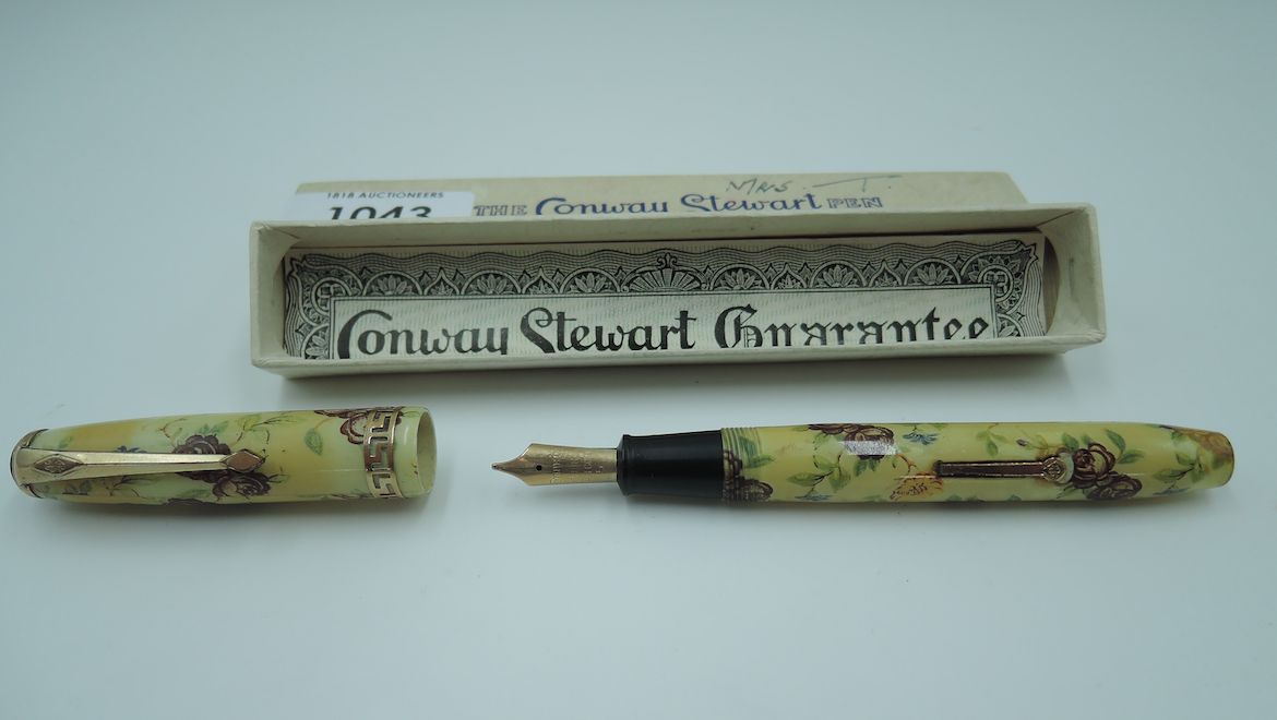 Specialist auctioneer for fountain pens